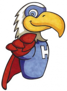 Hero the Eagle, School Mascot